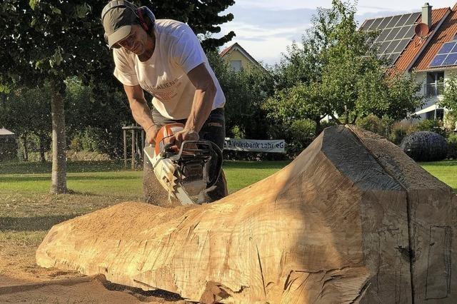 Sieben Tage, acht Künstler, viel Holz