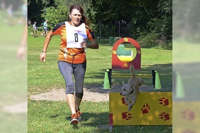 Fitness für Zwei- und Vierbeiner