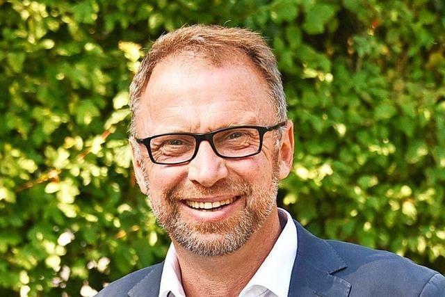 Frank Lindstedt bewirbt sich um Bürgermeisteramt in Müllheim