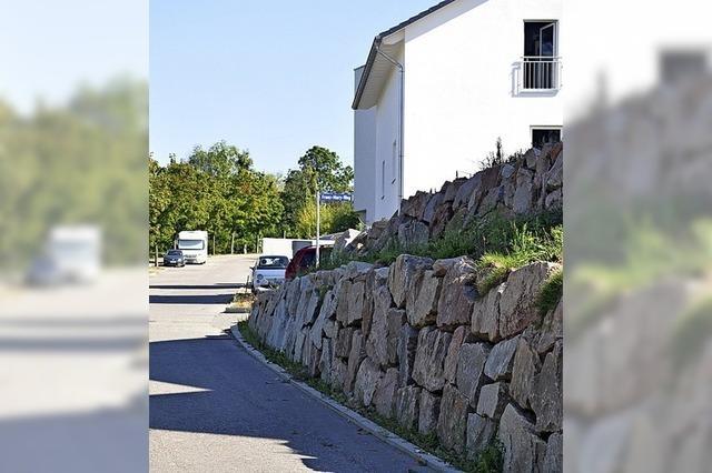 Diskussion um Steinmauern