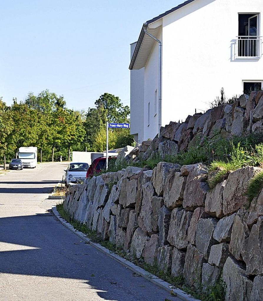 Wetter Steinmauern