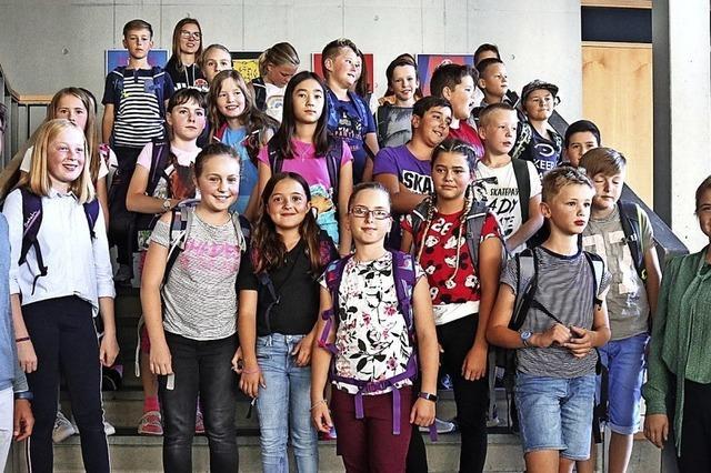 71 neue Schüler und Schülerinnen am Gymnasium Schönau