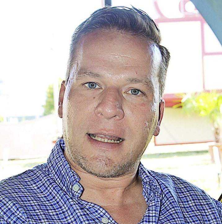 Sascha Melnjak führte die  Geschäfte des Zirkus Charles Knie.  | Foto: Rolf Reißmann
