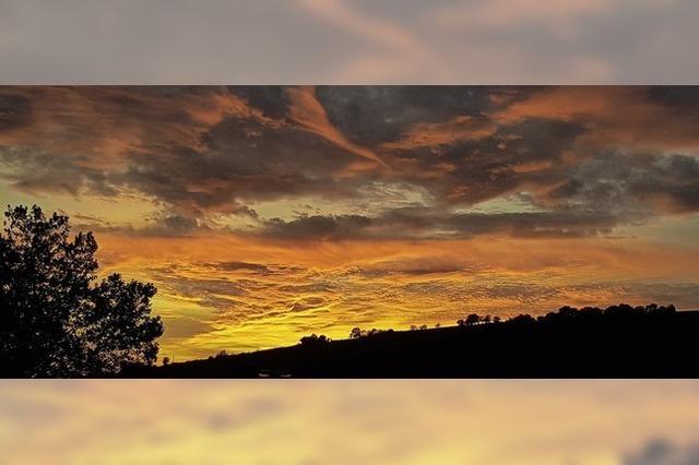 Himmlisches Farbenspiel
