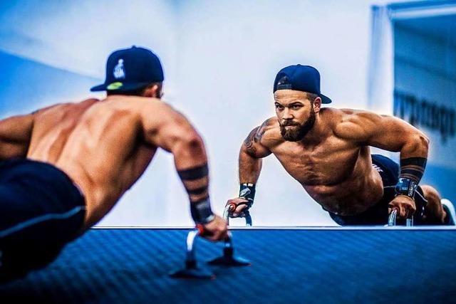 Der Zeller Alexander Petrovic will Profi-Bodybuilder werden