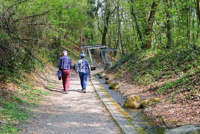 Der Dreiländergarten in Weil bleibt auf Zuschüsse angewiesen