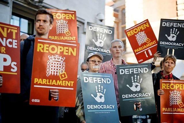 Verstieß Boris Johnson gegen die Verfassung?