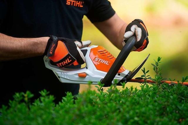 Verkauf von elektrischen Gartengeräten mit Akku boomt