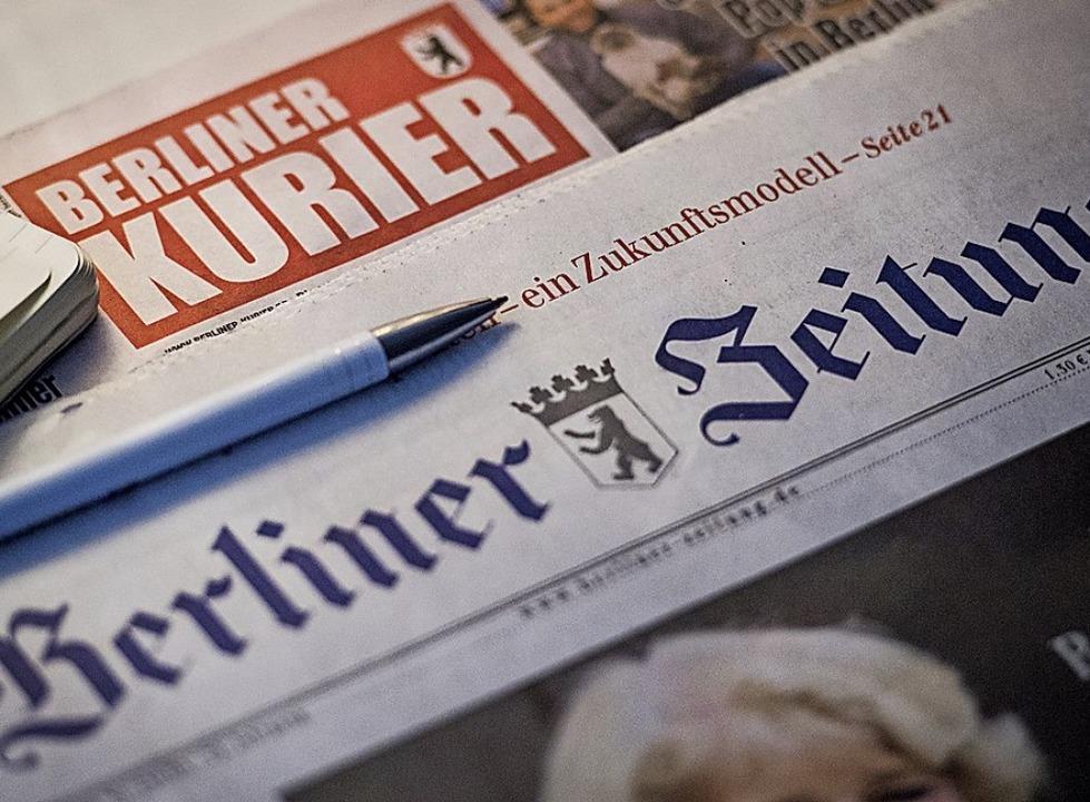 Verkauft: der Berliner Verlag  | Foto: Sophia Kembowski (dpa)