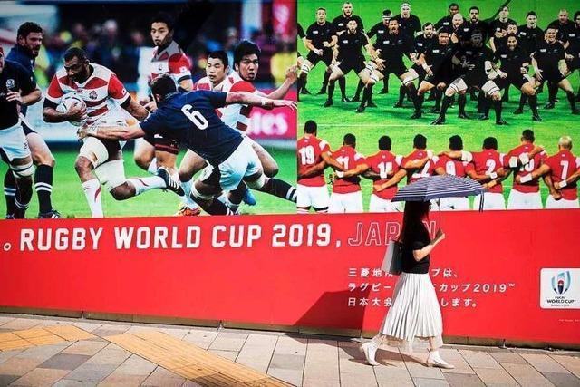 Japan hofft auf neue Heldentaten seines Rugby-Teams