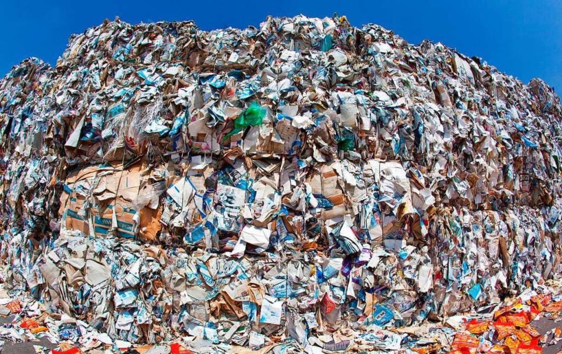 Papier wird recycelt.  | Foto: Patrick Pleul