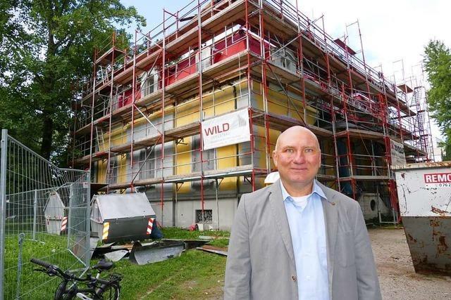 Die bbv Akademie will 2020 die Villa Aichele in Lörrach beziehen