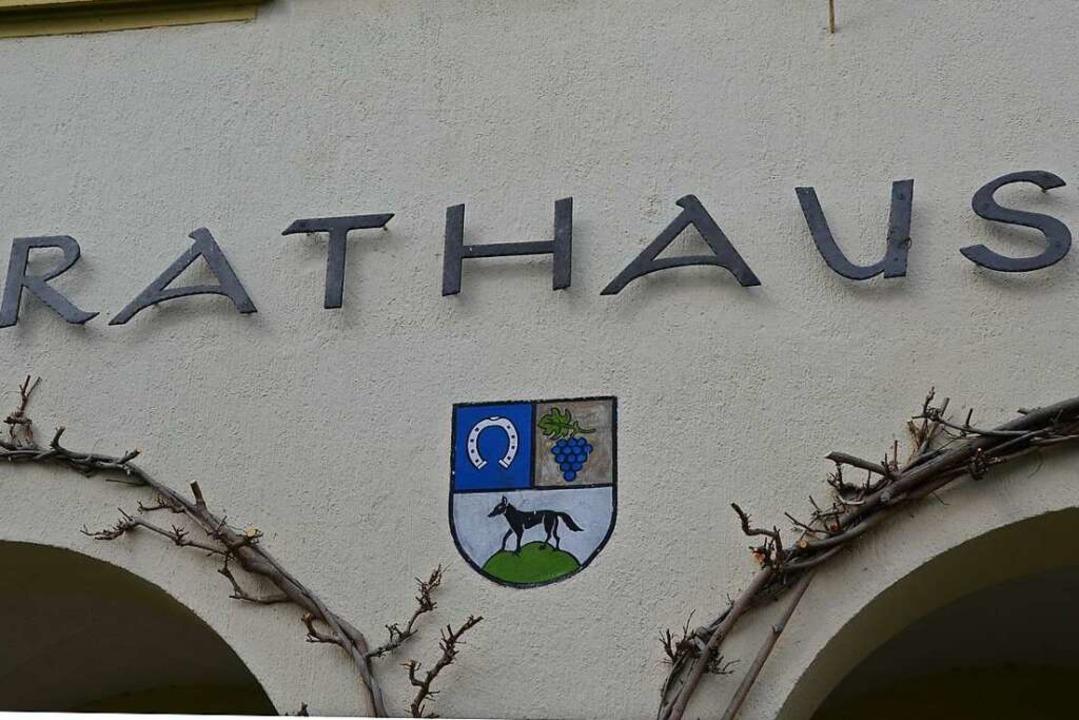 Im Februar  2020 wird ein neuer Chef o...efin ins  Rathaus Schallstadt gewählt.  | Foto: Tanja Bury