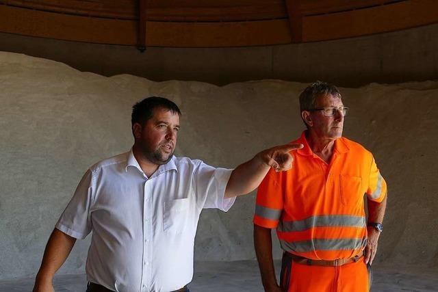 31 Mitarbeiter kümmern sich von Efringen-Kirchen aus um 60 Kilometer Autobahn