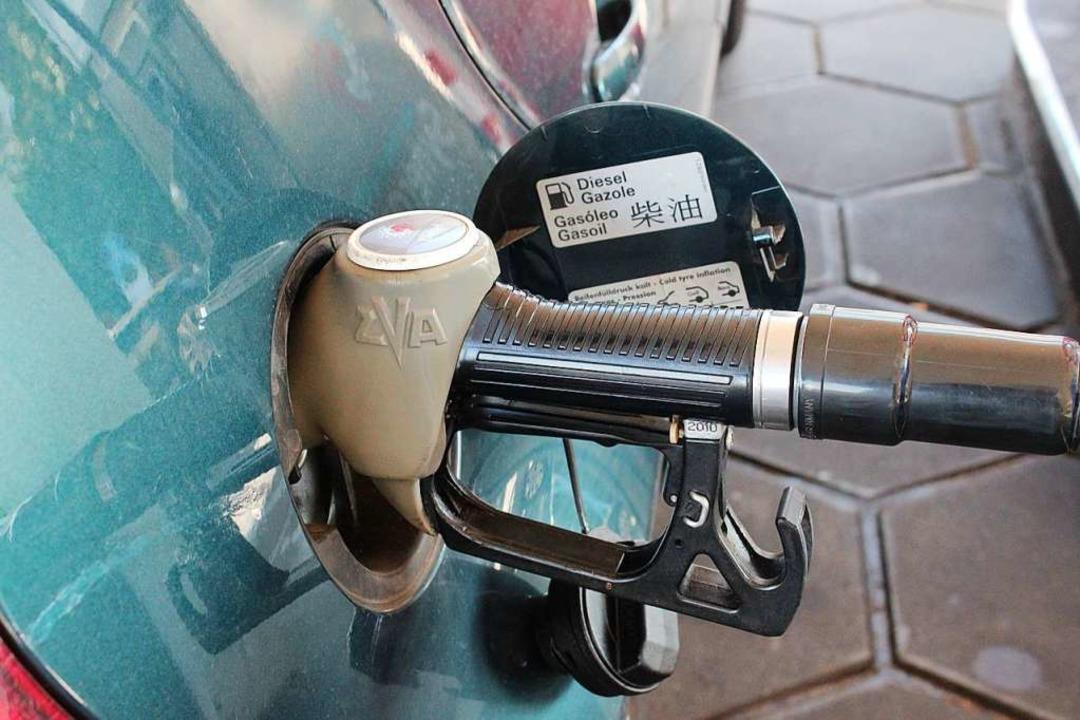 Direkt in ein anderes Auto oder in Beh...tstoff, der in Winden gestohlen wurde.  | Foto: Victoria Langelott