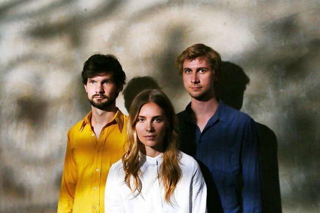 Das Julia Kadel Trio hat im legendären MPS-Studio aufgenommen