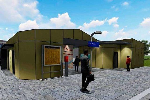 Die Pläne für den Bahnhof in Wyhlen wecken keine Begeisterung