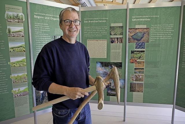 Ausstellung zum Ackerbau