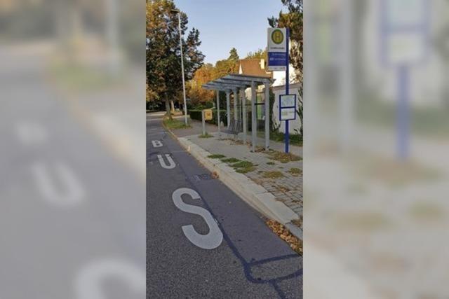 Bushaltestellen werden barrierefrei