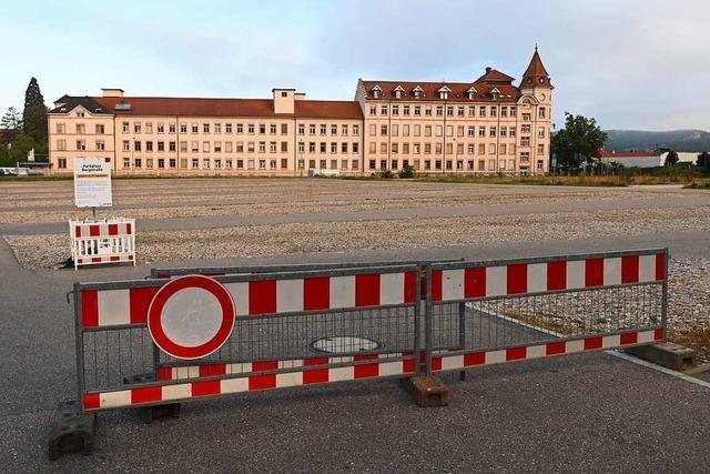Lörrachs größte Parkfläche mit 400 Plätzen ist Geschichte