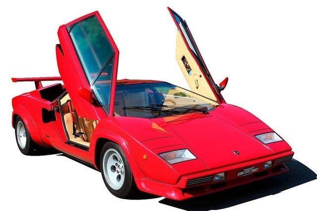 Sammler alter Lamborghinis fährt nicht gerne auf der linken Spur