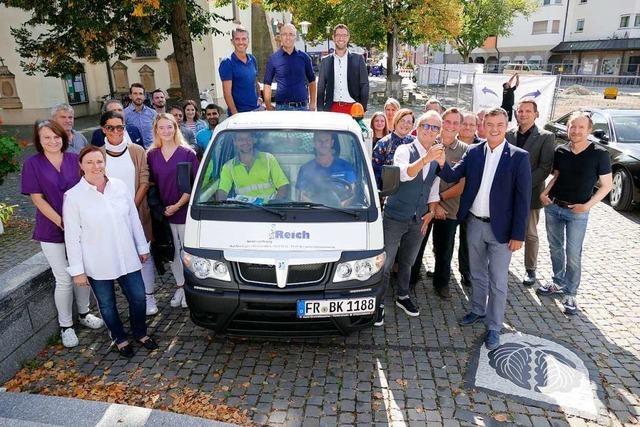 Neues Reinigungsfahrzeug soll Bad Krozingen sauber halten