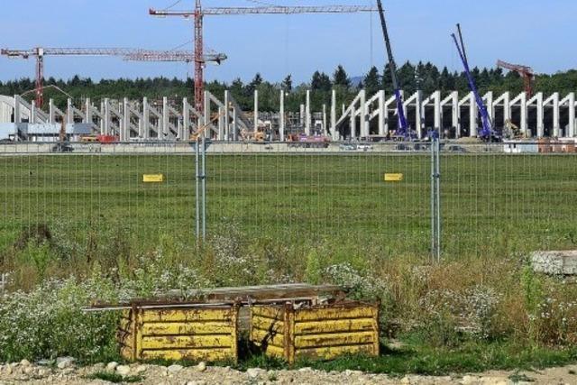 Stadionbaustelle
