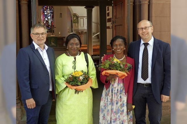 Besuch aus Kamerun