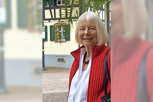 Gisela Gabriel war konsequent grün
