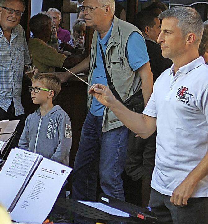Für Unterhaltung sorgte der Musikverein Gottenheim  | Foto: Daniel Hengst