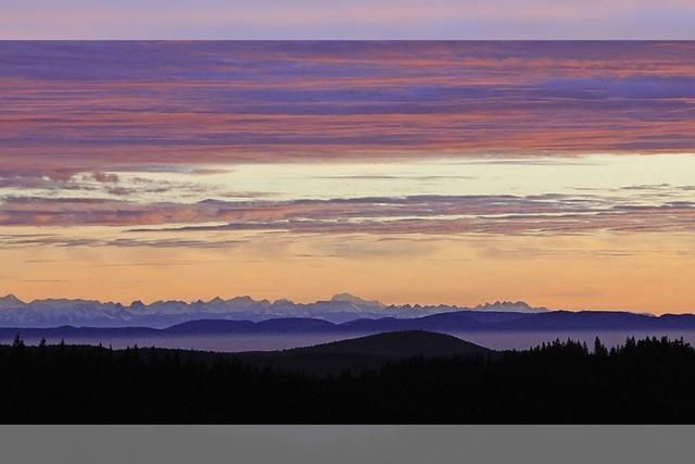 Vom Feldberg bis zum Mont Blanc