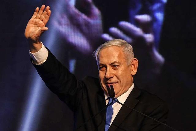 Ministerpräsident Netanjahu will auf keinen Fall abtreten