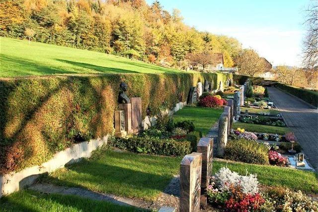 Ortschaftsrat stimmt für teurere Erweiterung des Friedhofs