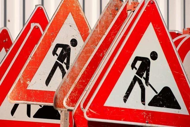 Arbeiten am Gmeiniweg in Grenzach-Wyhlen beginnen