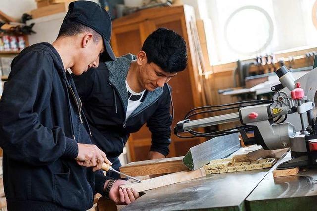 Ein Freiburger Projekt will Geflüchteten beim Start in die Ausbildung helfen