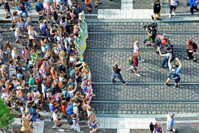 Mehr als 500 Organisationen machen beim Klimastreik am Freitag in Freiburg mit