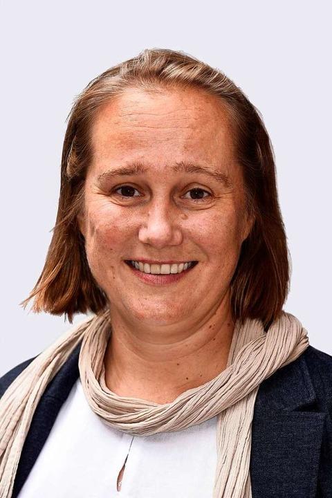 Doe Steuerfachwirtin Silvia Schumacher...ünf Jahren Ortvosteherin von Opfingen.  | Foto: Thomas Kunz