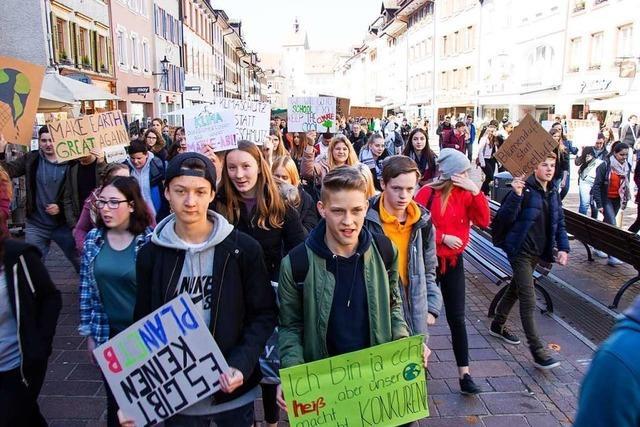 Auch in Waldshut-Tiengen wird am Freitag fürs Klima demonstriert