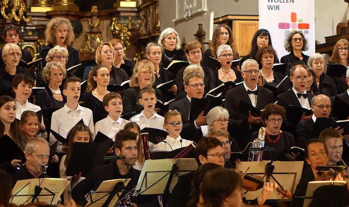 Auch der Kammerchor Bad Säckingen hat ...ekt an kulturelle Einrichtungen geben.  | Foto: Roswitha Frey