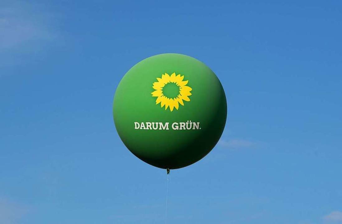Die Grünen im Höhenflug  | Foto: Marijan Murat (dpa)