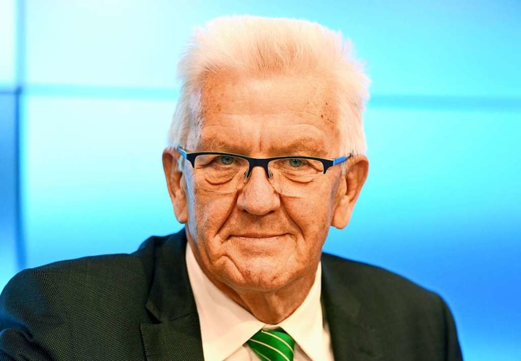 Ministerpräsident Winfried Kretschmann ist sehr beliebt.  | Foto: Bernd Weissbrod (dpa)