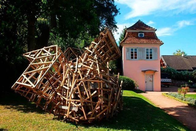 Am Sonntag wird ein Herbstfest mit Bildhauerkunst im Prinzengarten gefeiert