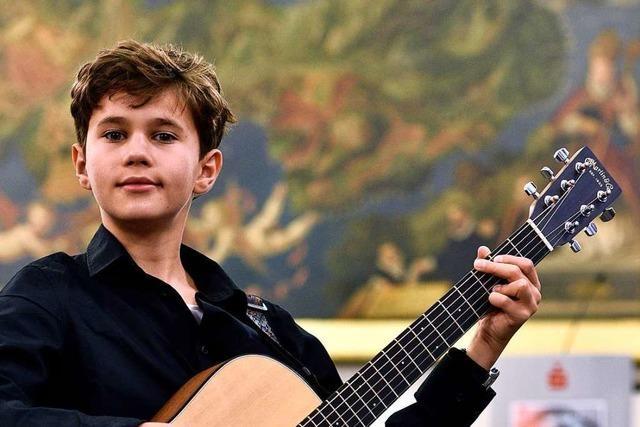 11-jähriger Freiburger ist beim Wettbewerb
