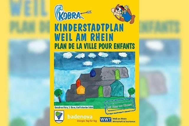 Neuer Kinderstadtplan von Weil am Rhein ist fertig