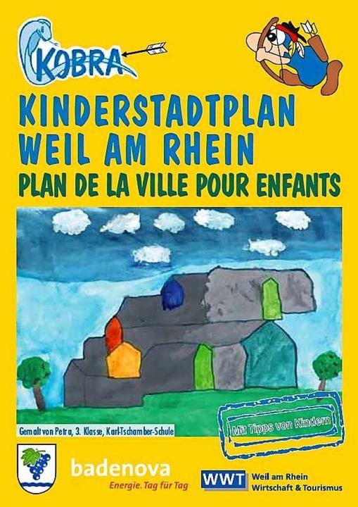 Der neue Kinderstadtplan der Stadt Weil am Rhein  | Foto: WWT