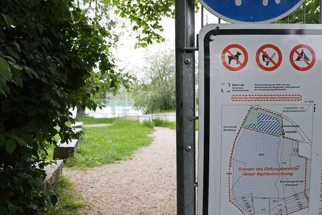Ortschaftsrat will keinen Hundebadestrand am Waldmattensee