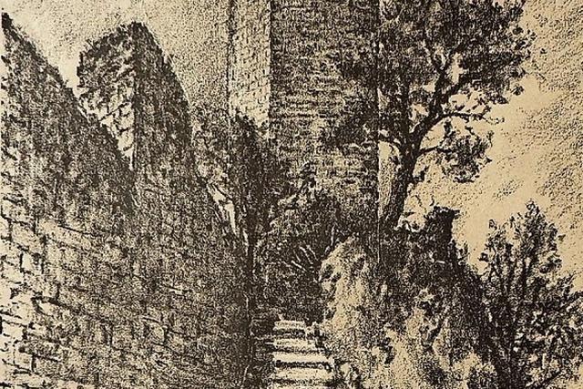 Die unheimliche Begegnung auf der Wieladinger Ruine