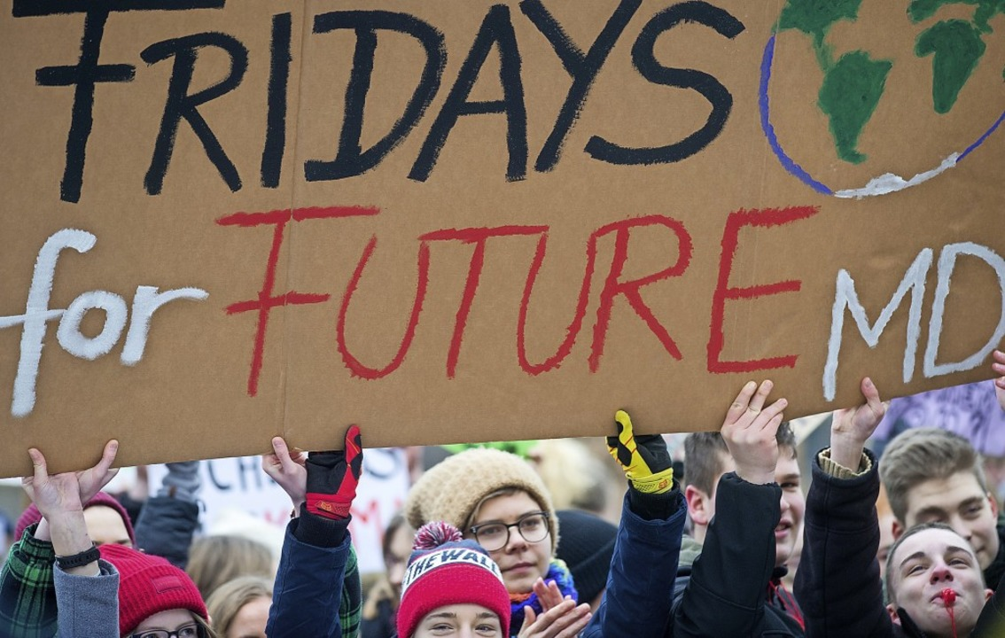 Eine neue Jugendbewegung: Schüler haben Fridays for Future ins Rollen gebracht.    Foto: Klaus-Dietmar Gabbert
