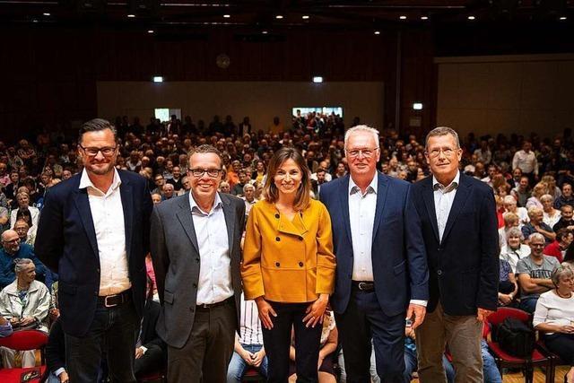 Wie war's beim BZ-Kandidatentalk in Titisee-Neustadt?