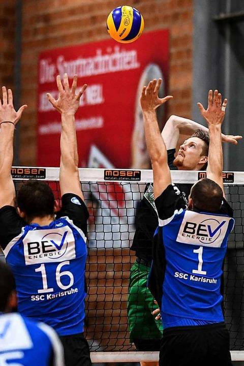 Gegen den badischen Rivalen Karlsruhe ...am Samstag sicher nicht an Motivation.  | Foto: Patrick Seeger